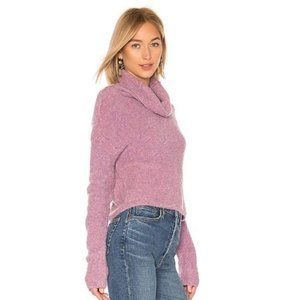 NWT FREE PEOPLE Stormy Pullover Lavender #AS15